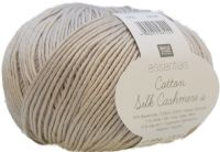 Ricon cotton cashmere sik shade 005 light grey natural